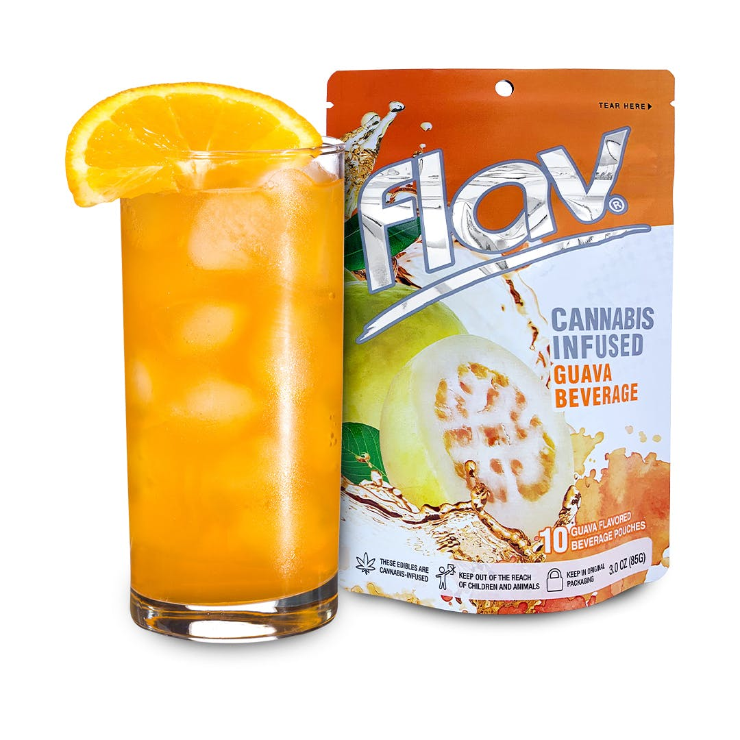 FLAV THC GUAVA DRINK POUCHES 100MG